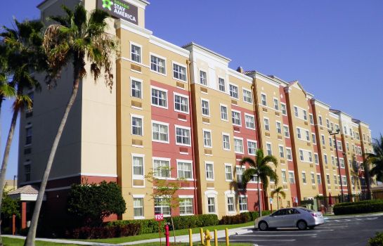 Außenansicht Extended Stay America Miami Airport Doral 25th St