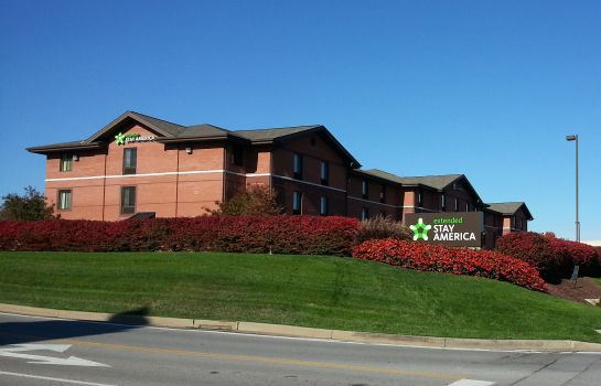 Exterior view Extended Stay America Pittsbur
