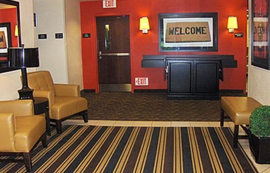 Hotelhalle EXTENDED STAY AMERICA ROCK MIL