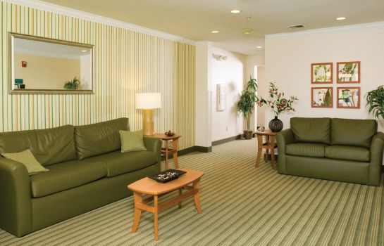 Lobby Extended Stay America Lombard