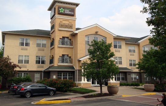 Exterior view Extended Stay America IND Airp