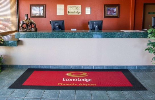 Hall de l'hôtel Econo Lodge Airport