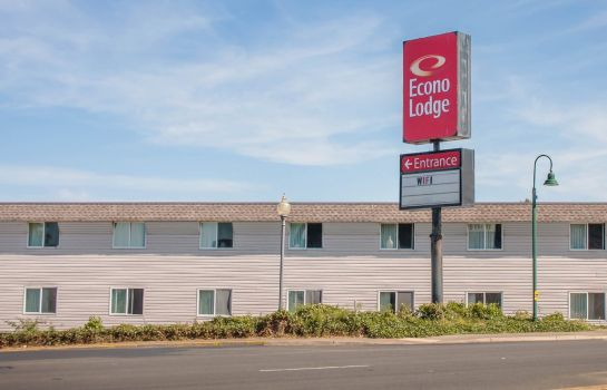 Buitenaanzicht Econo Lodge Lincoln City