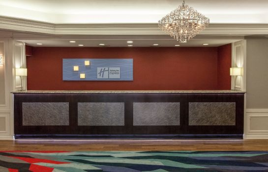Hotelhalle Holiday Inn Express NASHVILLE-DOWNTOWN