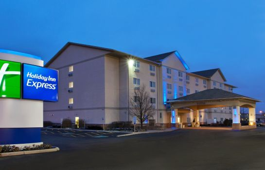 Außenansicht Holiday Inn Express COLUMBUS - OHIO EXPO CENTER