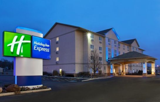 Außenansicht Holiday Inn Express & Suites EX I-71/OH STATE FAIR/EXPO CTR