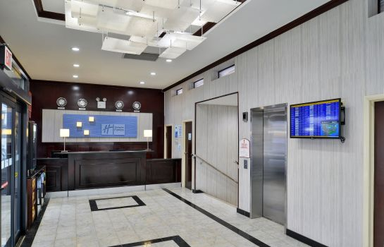 Hotelhalle Holiday Inn Express NEW YORK JFK AIRPORT AREA