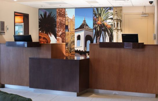 Hotelhalle Fairfield Inn & Suites San Diego Old Town
