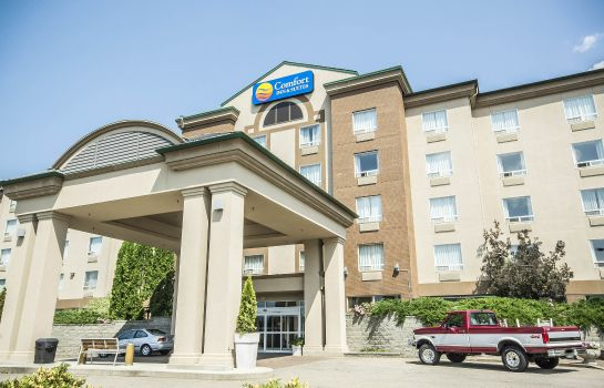 Vista exterior Comfort Inn & Suites Salmon Arm