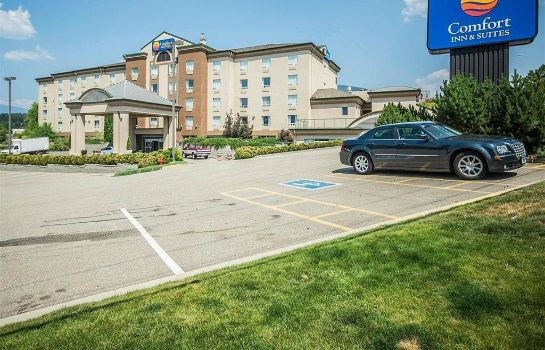 Buitenaanzicht Comfort Inn and Suites Salmon Arm