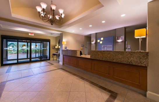 Hotelhalle Holiday Inn Express & Suites TAMPA-ANDERSON RD/VETERANS EXP
