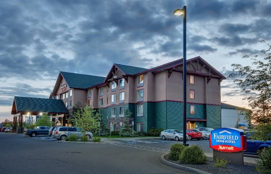 Vista exterior Fairfield Inn & Suites Anchorage Midtown