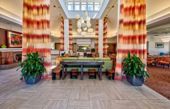 Hall de l'hôtel Hilton Garden Inn Houston-Bush Intercontinental Airport