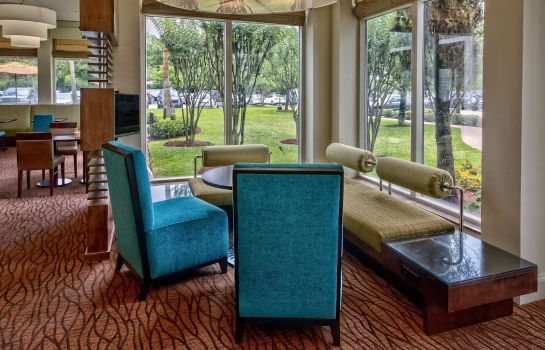 Vestíbulo del hotel Hilton Garden Inn Houston-Bush Intercontinental Airport
