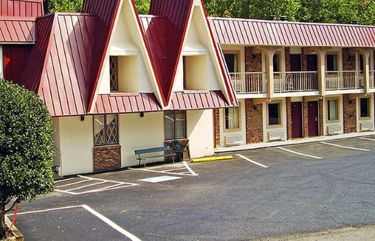 Buitenaanzicht TN - Smoky Mountains Motel 6 Gatlinburg