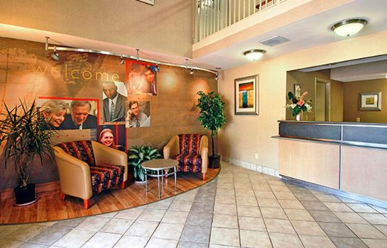 Hall de l'hôtel Motel 6 Gatlinburg Smoky Mountains