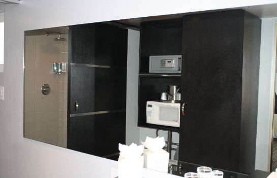 Bagno in camera Hotel Current