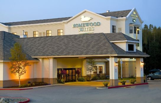 Außenansicht Homewood Suites by Hilton Anchorage