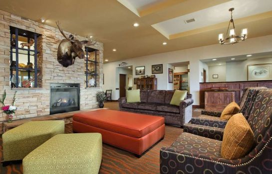 Hotelhalle Homewood Suites by Hilton Anchorage