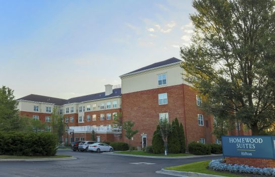 Exterior view Homewood Suites by Hilton Columbus-Dublin