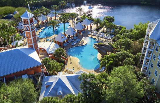 Vue extérieure Hilton Grand Vacations at SeaWorld