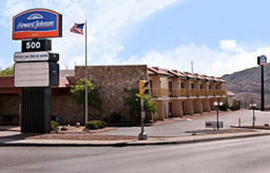 Vista esterna Howard Johnson Inn El Paso TX
