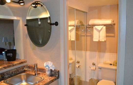 Bagno in camera Aviator Hotel Anchorage