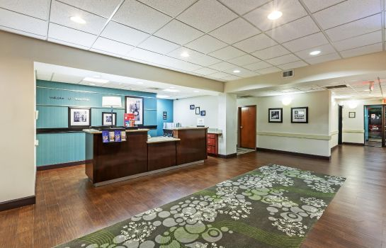 Hotelhalle Hampton Inn - Suites Houston-Westchase