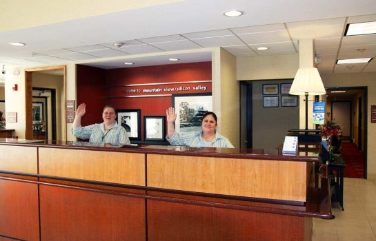 Hotelhalle Hampton Inn - Suites Mountain View