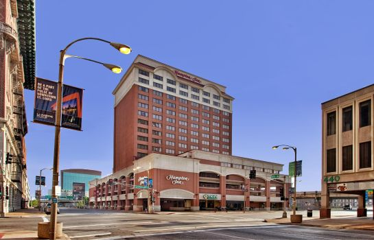 Vista exterior Hampton Inn St Louis-Downtown -At the Gateway Arch- MO