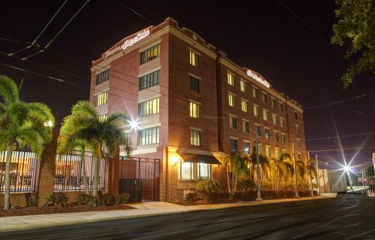 Außenansicht Hampton Inn - Suites Tampa-Ybor City-Downtown