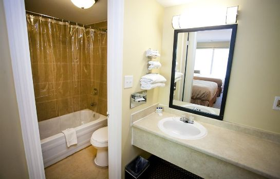 Bagno in camera Star City Inn & Suites