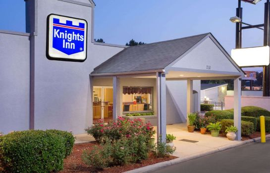 Exterior view KNIGHTS INN AUGUSTA