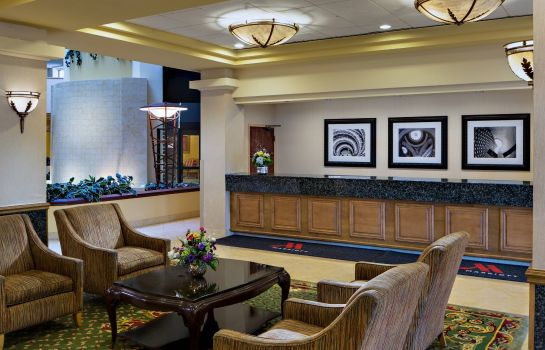 Hotelhalle Cedar Rapids Marriott