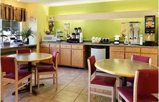 Sala colazione Americas Best Value Inn & Suites Jackson
