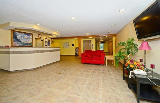 Lobby Americas Best Value Inn & Suites Jackson