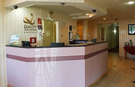 Lobby Quality Inn & Suites North/Polaris