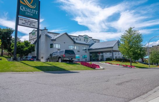 Vista esterna Quality Inn Kamloops