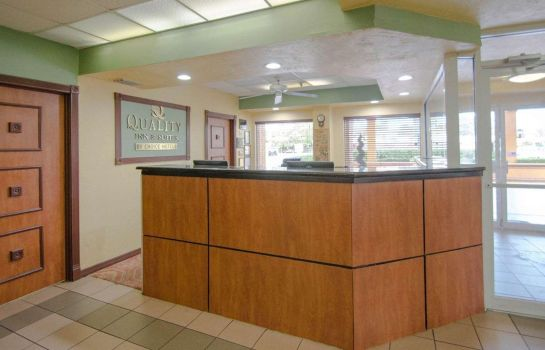 Hotelhalle Quality Inn Sarasota North