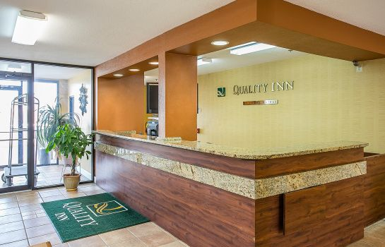 Lobby Quality Inn at Fort Gordon