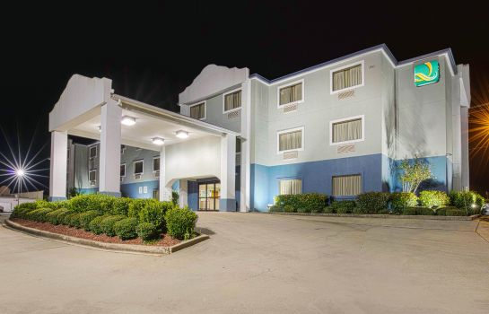 Widok zewnętrzny Quality Inn and Suites Jackson Intl Airp
