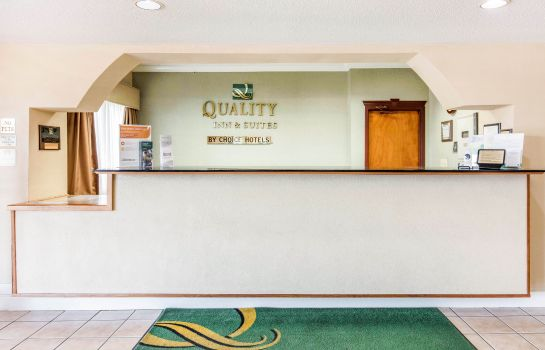 Hol hotelowy Quality Inn & Suites Jackson Int'l Airport