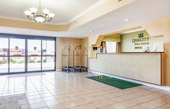 Hotelhalle Quality Inn and Suites Jackson Intl Airp