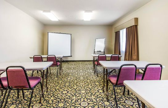 Sala konferencyjna Quality Inn & Suites Jackson Int'l Airport