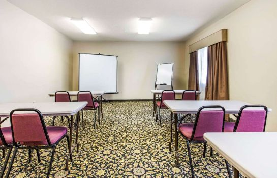 Conference room Quality Inn & Suites Jackson Int'l Airport