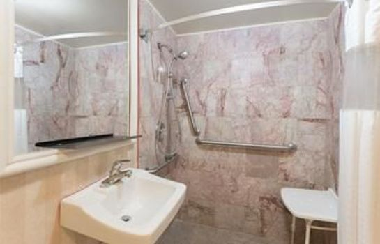 Cuarto de baño Knights Inn Atlantic City
