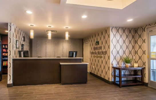 Lobby Quality Inn and Suites - Ruidoso Hwy 70 Quality Inn and Suites - Ruidoso Hwy 70