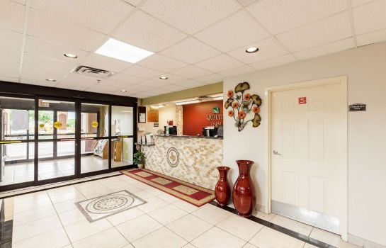 Lobby Quality Inn near SeaWorld - Lackland