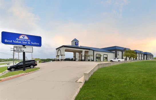 Buitenaanzicht Americas Best Value Inn and Suites-Manor/Austin East