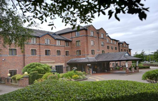 Exterior view Best Western Plus Stoke-on-Trent Moat House